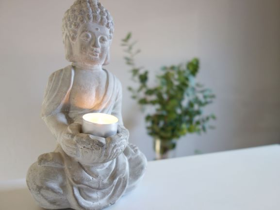 Buddha als Symbol für Meditation